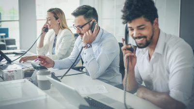 12 funciones del sistema telefónico de oficina disponibles con VoIPstudio