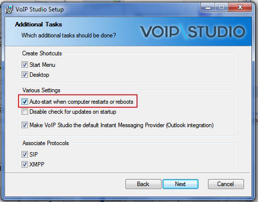 Cómo obtener un número de VoIP: elija iniciar la aplicación VoIP
